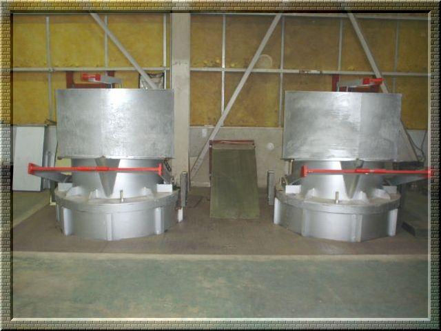 重油溶解炉(2基) 加工サイズ3t/1基